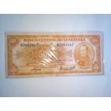 Billete De 500 Canario Único Del 1958