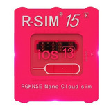 Rsim 15 Desbloquea iPhone SE, 6, 7, 8, X, Xr, Xs, 11, 11 Pro