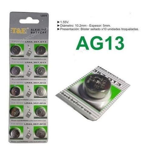 10 Unidades Lr44 Ag13 Ag10 Lr1130 389 Precio X 10 Unids