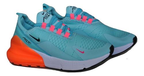 f8261737186 Kp3 Zapatos Niñas Nike Air Max 270 Agua   Naranja