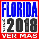 Mapa Garmin Florida Orlando Miami Usa Estados Unidos |2018