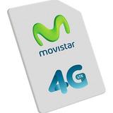 Movistar Simcard 4g, Lineas Nuevas Y Recuperaciones (envios)