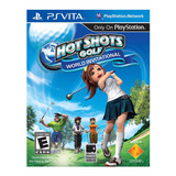 Juego Playstation Ps Vita Hot Shots Golf Original Sellado
