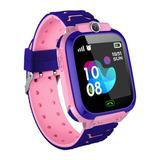Reloj Niña Gps Localizador Inteligente Smart Watch Z5 Rosado