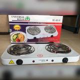 Cocina Eléctrica 2 Hornillas Voltaje 110v