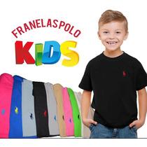 Franelas Polo Para Niños! Tallas: 2-4-6-8-10-12-14.