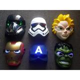 Mascara Disfraz Avengers Capitan A Hulk Ironman Dragon Ball