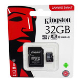 Memoria Micro Sd 32gb Kingston Original