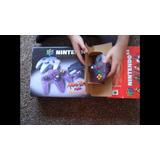 Nintendo 64 Con Caja Edición Especial Atomic Purple