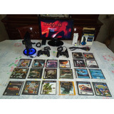 Playstation 2 Chipeado Con Muchos Accesorios Impecables