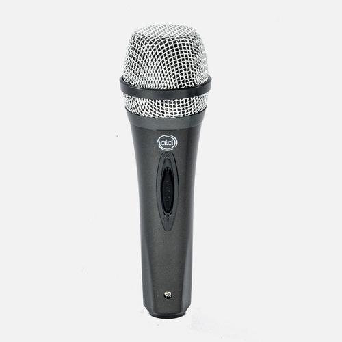 Microfono Dinamico Para Karaoke Atd Con Cable 3 Mts 1 Pza