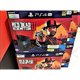 Playstation 4 Pro 1 Tera 4k Red Dead Redemption 2 + Regalo