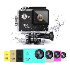 Camara Sport Waterproof Accion Tipo Gopro Sj4000 A9 Hd 30mt