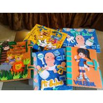 Carpetas Decoradas En Foami..escolares..