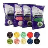 Cera Para Depilar En Perlas Granos De 100gr X 3 Unidades