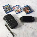 Psp Vita Sony Con 3 Juegos