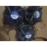 Fan Cooler Para Procesador 775 Intel 5 Verdes C/u