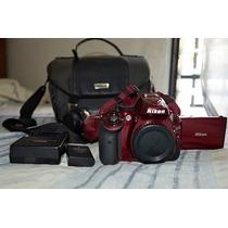 Camara Profesional Nikon D5200 Full Hd