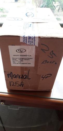 Motor De Transferencia Manual De 125amp 3 Polos