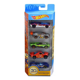 Hot Wheels Paquete De 5 Carros Escala 1:64 50 Aniversario
