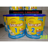 Formula Baby Klim 1 - 2 800gr 0-6 6-12 Meses, !!aproveche!!