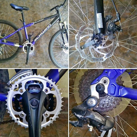 Bicicleta Montañera Schwinn De Aluminio Talla S Ring 26