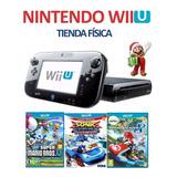 Consola Nintendo Wii U 32gb + 3 Juegos Originales