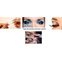 Pega De Pestañas Duo Maquillaje De Dama Oferta Especial