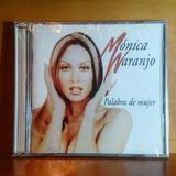 Monica Naranjo Palabra De Mujer Cd Original Nuevo Y Sellado