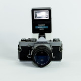 Camara Olympus Om-1n (incluye Flash)