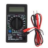 Tester Multímetro Digital Lcd Dt830b - Incluye Bateria