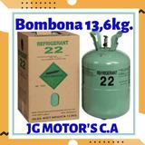 Bombona Nueva Sellada R22 Con  13.6kg. De Gas.