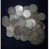 Monedas De Plata 0.25 Centimos (medios) Diferentes Años