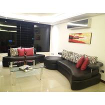 Mueble Sofa Cama Modular Semicuero Moderno 420