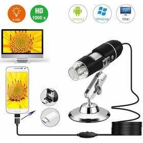 Microscopio Digital Camara Usb 1600x Zoom 8 Led Rt193