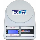 Balanza 7 Kilos Kg Portatil Sf-400 Peso Digital Garantia
