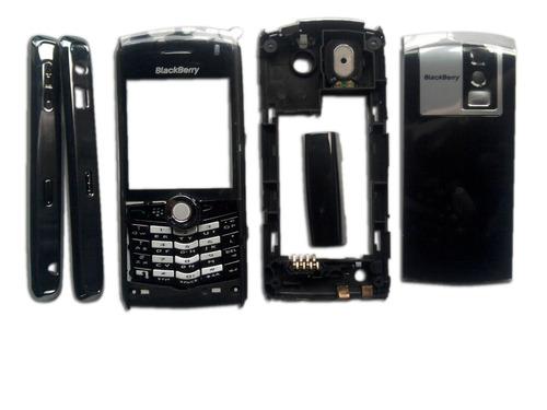 Carcasa blackberry 8100 pearl accesorio telefono celular for Telefono bb