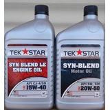 Aceite Semi Sintético 20w 50 Y 15w40 Made Usa Tienda Chacao