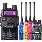 Radio Vhf -uhf Portatil Trasmisor Baofeng Uv-5r