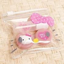 Estuche Para Lentes De Contacto De Hello Kitty Perocontenta
