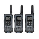 Radios Motorola Walkie Talkie T200tp 3pack 32km