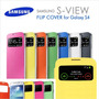 Estuche Forro Flip Cover Samsung Galaxy S4 I9500 Ventana