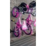 Bicicleta Rin 16 Con Ruedas Para Niños Y Niñas.