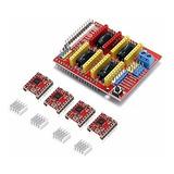Kit Para Impresora 3d Arduino Shield + 4pcs A4988
