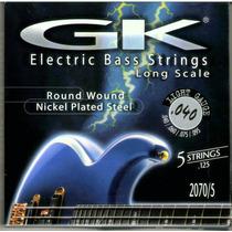 Set De Cuerdas Para Bajo Eléctrico De 5c Marca Gk 040-125