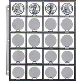 Hoja Cowens De 20 Espacios Para Monedas De Colección