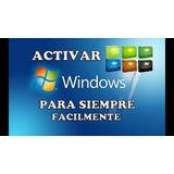 Activador Windows 7 Siempre Activo Las 24 Horas