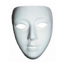 12 Mascaras Blanca Disfraz Disfraces Niños, Adultos, Manual