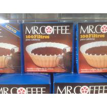Filtros Para Cafetera 100 Unidades Mr Coffe