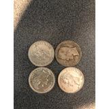 Monedas De Plata De Colección Año 1960